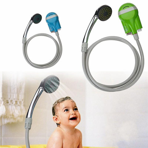 Image of PORTABLE OUTDOOR SHOWER