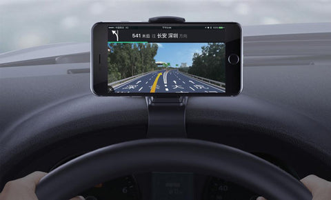 Image of CAR DASH CLIP-ON PHONE HOLDER CAR