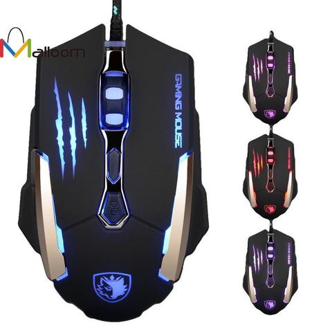 Image of Wired Gaming 7 Button 3500 DPI LED Glowing Mouse