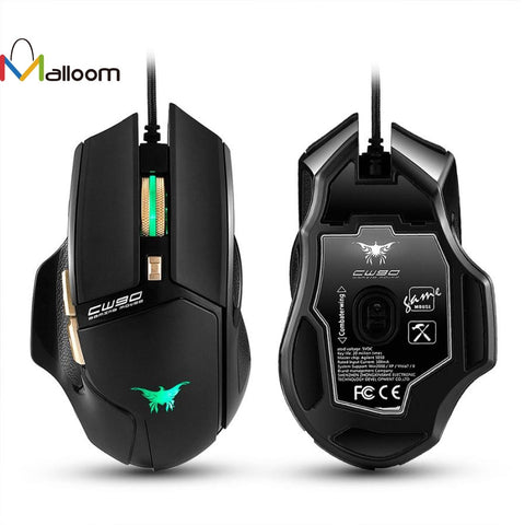Image of Wired Gaming Optical Positioning 3800 DPI 6 Button Mouse