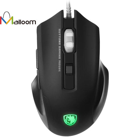 Image of Wired Gaming Optical Positioning 6 Buttons 2500 DPI Mouse LED Glowing Mouse