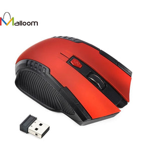 Wireless Gaming Optical Positioning 1500 DPI 6 Button Mouse