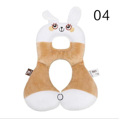 Image of Baby Animal U-Pillow Headrest & Neck Protection