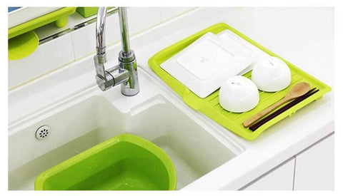 Image of KITCHEN DISHES DRAINING RACK