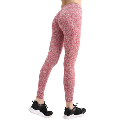 Image of Solid High Waist Push Up Workout Leggings