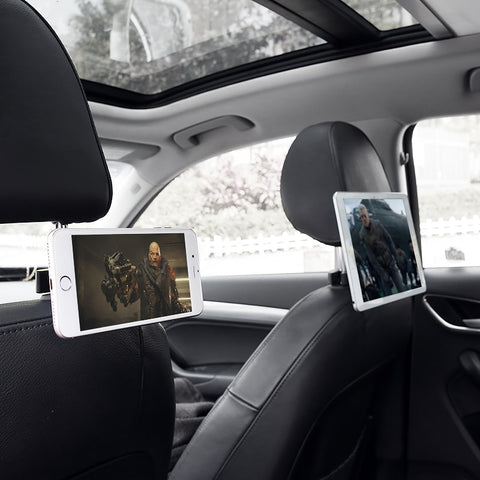 Image of Back Seat Headrest Magnetic Phone Holder