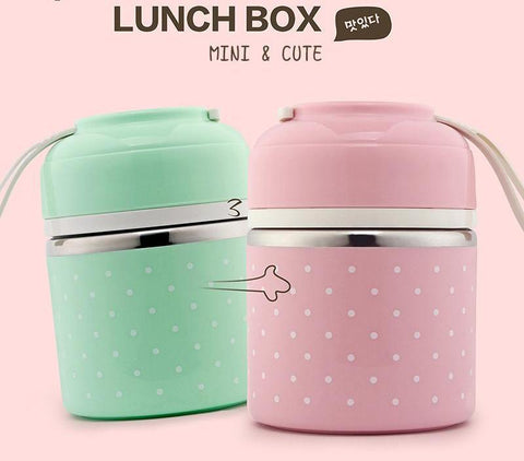Stainless Steel Compartment Lunch Box