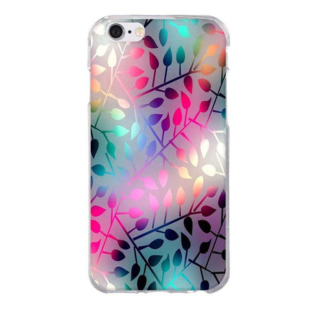 Image of Apple iPhone 8 3D Pattern Soft TPU Slim Cell Phone Cover Case