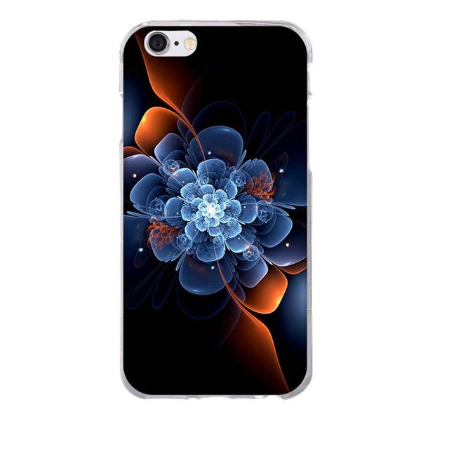 Apple iPhone 8 3D Pattern Soft TPU Slim Cell Phone Cover Case