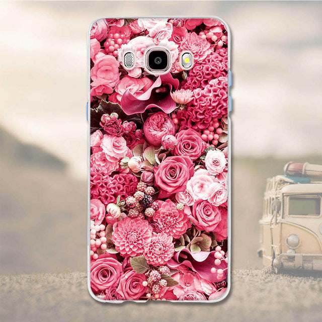Samsung Galaxy J3 2015 and J3 2016 3D Soft TPU Slim Cell Phone Case Cover
