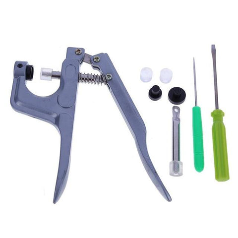 Image of Snap Plier Hand Tool - (150 plastic snap buttons included)