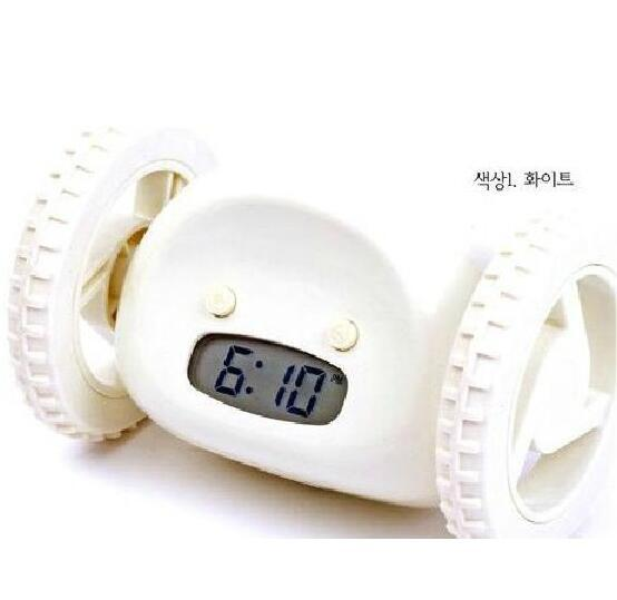 Digital LCD Display Running Alarm Clock