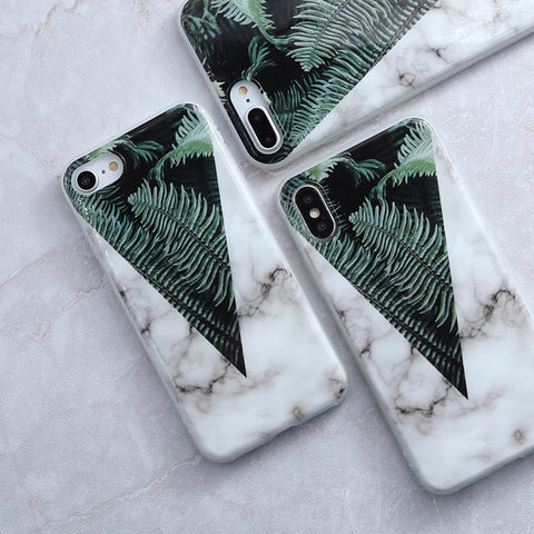 Image of Apple iPhone 6 Plus Granite Marble Stone soft TPU Cell Phone Case Cover