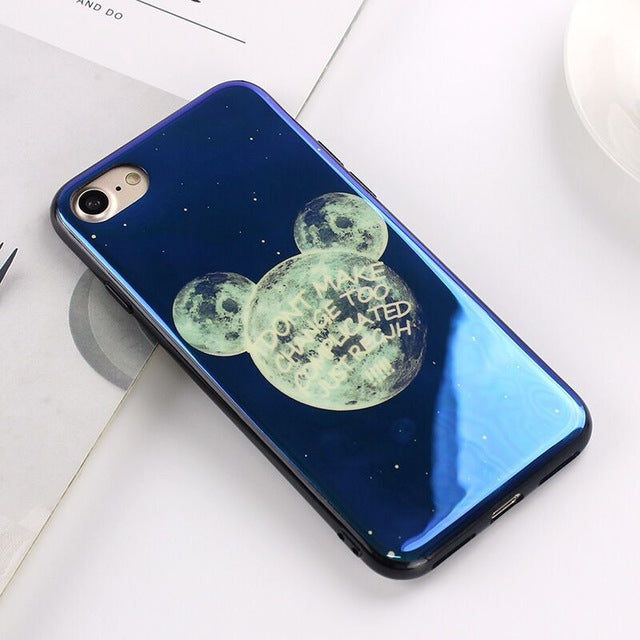 Apple iPhone 6 and 6S Electroplate Moon Soft TPU Cell Phone Protective Cover Case