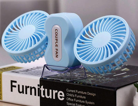 Image of Double Air Conditioner - USB Chargable