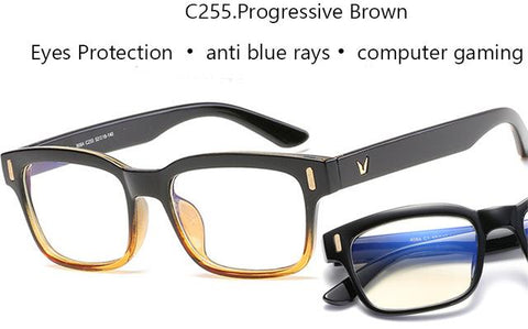 Image of Scratch Proof Crystal Clear Computer & Gaming Glasses with 100 % UV Protection