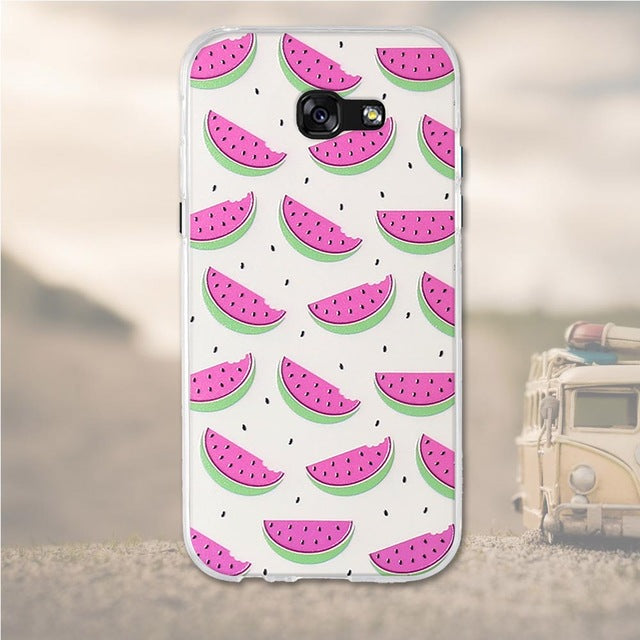 Watermelon Samsung Galaxy A7 2017 Cell Phone Protective Case Cover