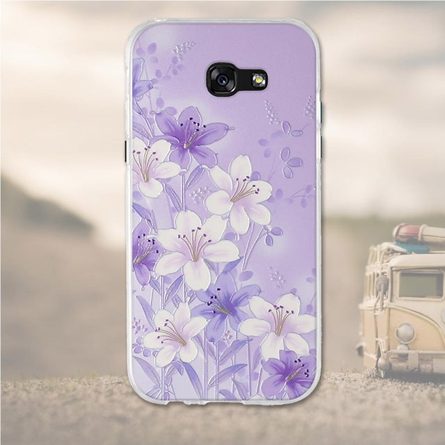 Bundle Of Flowers Samsung Galaxy A3 2017 Cell Phone Protective Case Cover