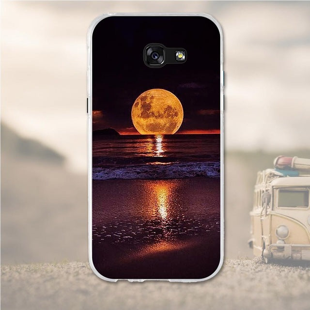 Moon Light Samsung Galaxy A5 2017 Cell Phone Protective Case Cover