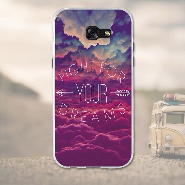 Dream Big Samsung Galaxy A7 2017 Cell Phone Protective Case Cover