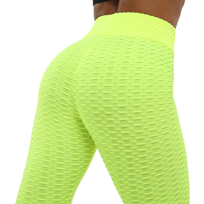Fashion High Waist Push Up Fitness Leggings