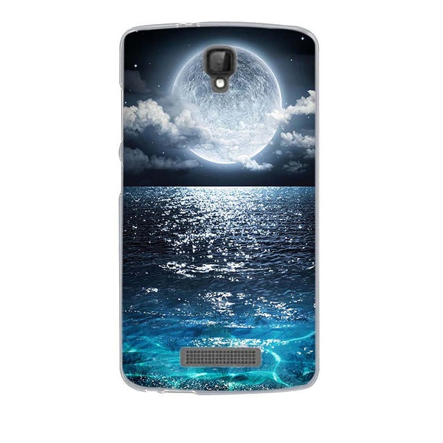 Ocean Night ZTE Blade L5 Plus Cell Phone Protective Case Cover