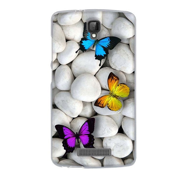 Butterfly Stone ZTE Blade L5 Cell Phone Protective Case Cover