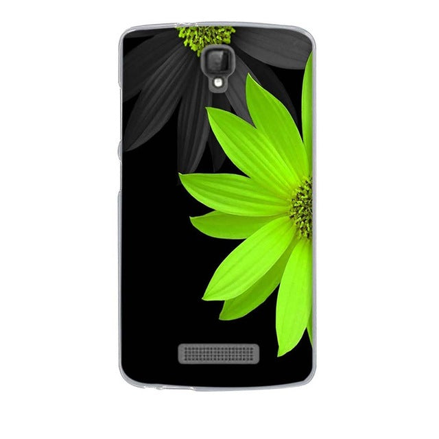 Green Flower ZTE Blade L5 Cell Phone Protective Case Cover