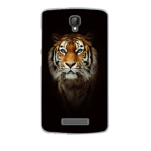 Tiger Face ZTE Blade L5 Cell Phone Protective Case Cover