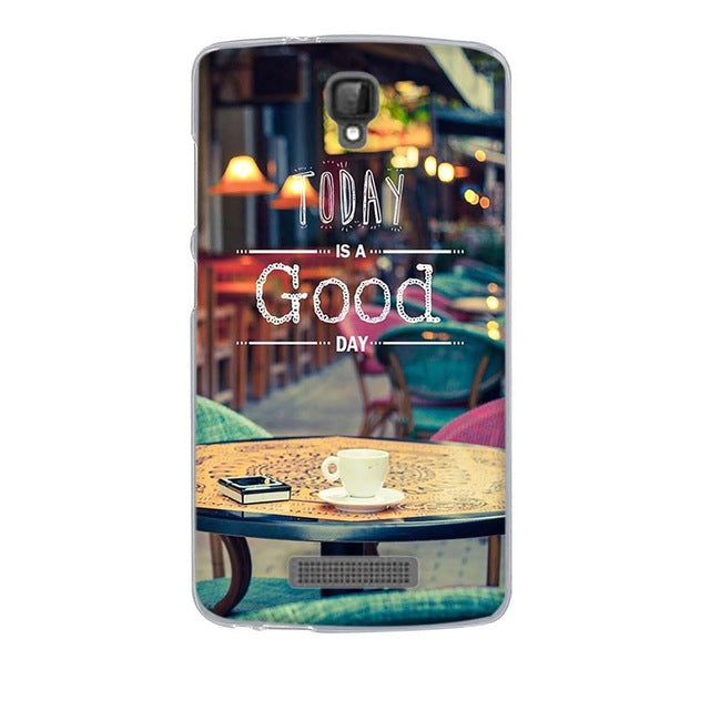 Good Day ZTE Blade L5 Cell Phone Protective Case Cover