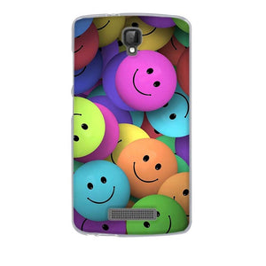 Multicolored Smileys ZTE Blade L5 Plus Cell Phone Protective Case Cover