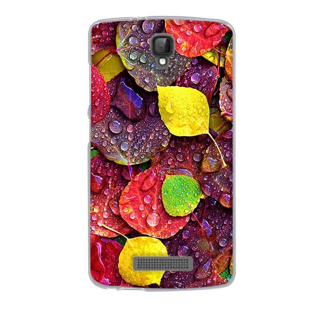 Fall Leaves ZTE Blade L5 Plus Cell Phone Protective Case Cover