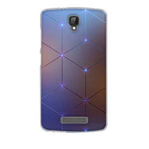 Geometric ZTE Blade L5 Cell Phone Protective Case Cover