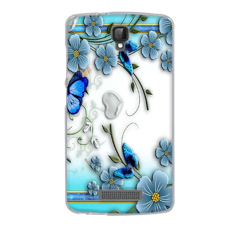 Butterfly Flower ZTE Blade L5 Plus Cell Phone Protective Case Cover