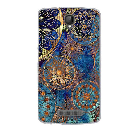 Abstract Design ZTE Blade L5 Plus Cell Phone Protective Case Cover