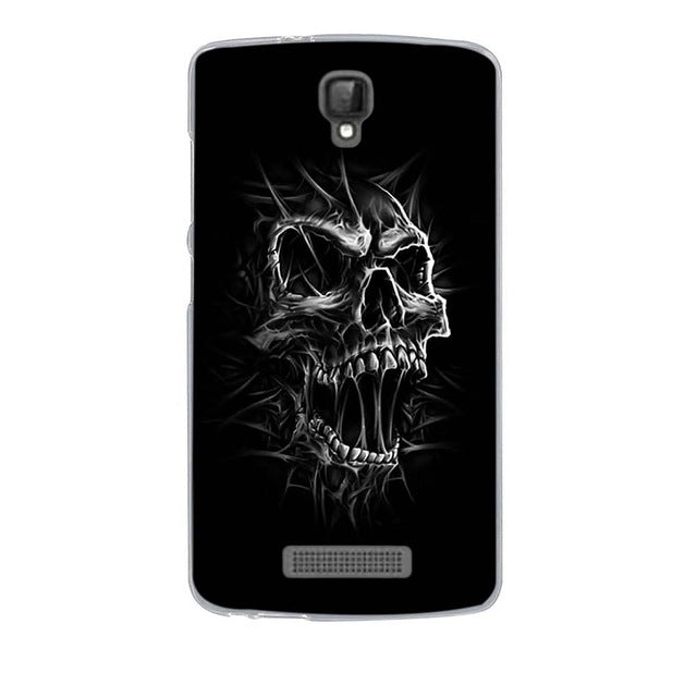 Angry Skull ZTE Blade L5 Cell Phone Protective Case Cover