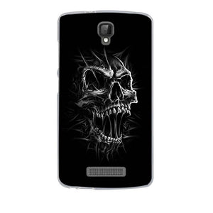 Angry Skull ZTE Blade L5 Plus Cell Phone Protective Case Cover