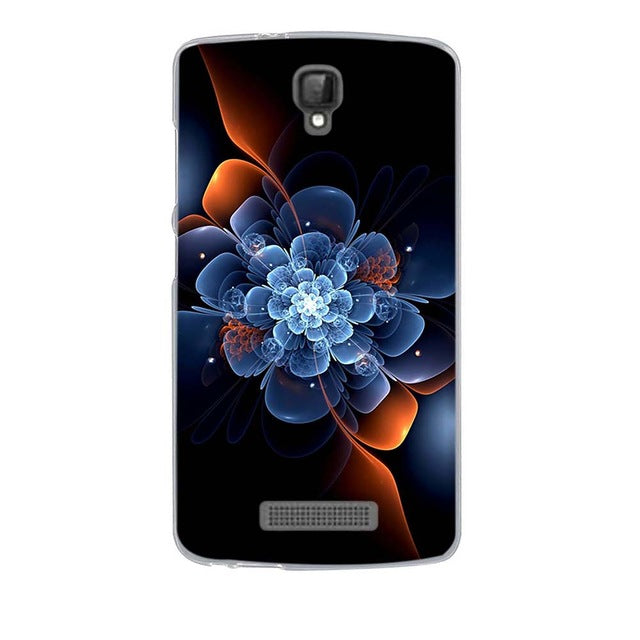 Quantum Flower ZTE Blade L5 Plus Cell Phone Protective Case Cover