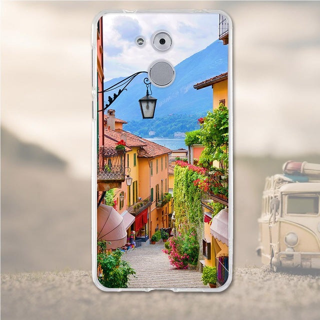 Small Town Huawei Nova Honor 6C Cell Phone Protective Case Cover