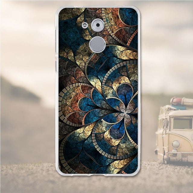 Stain Glass Huawei Nova Enjoy 6S Cell Phone Protective Case Cover
