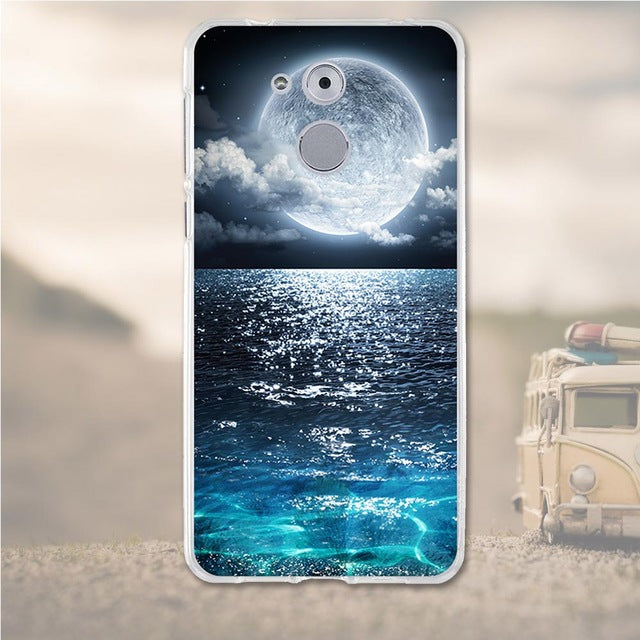 Ocean Night Huawei Nova Honor 6C Cell Phone Protective Case Cover