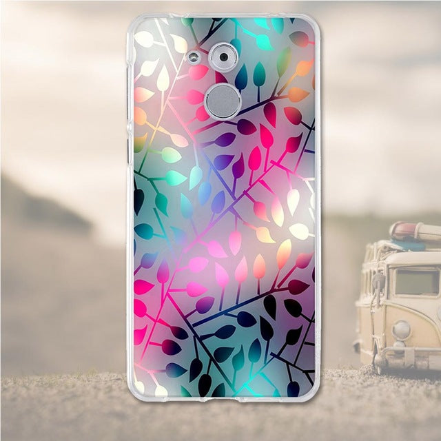 Abstract Huawei Nova Honor 6C Cell Phone Protective Case Cover