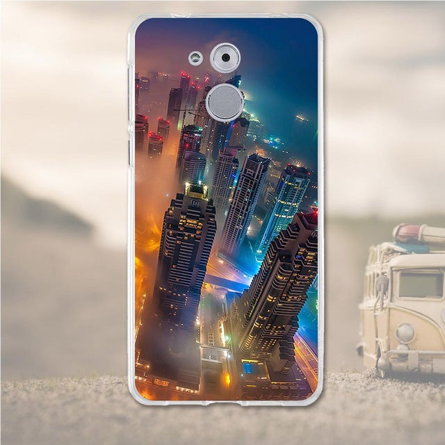 City Life Huawei Nova Enjoy 6S Cell Phone Protective Case Cover