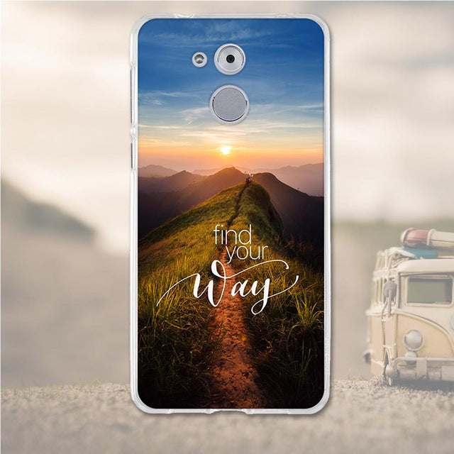 Find Your Way Huawei Nova Enjoy 6S Cell Phone Protective Case Cover