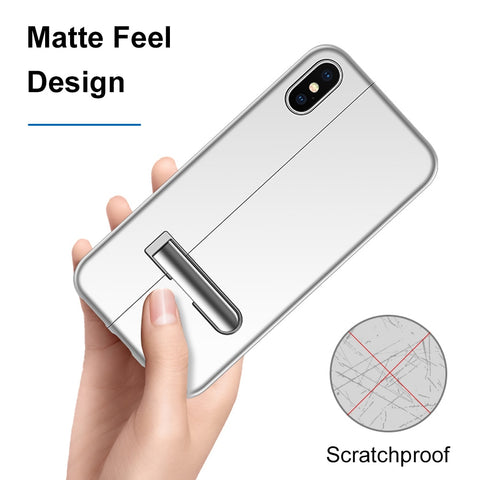 Stitching Color Magnetic iPhone Case
