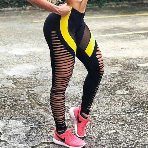 Image of Fashion High Waist Push Up Workout Leggings