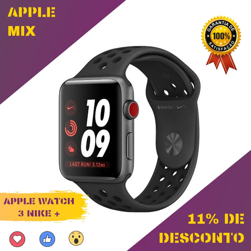 APPLE WATCH 3 NIKE +