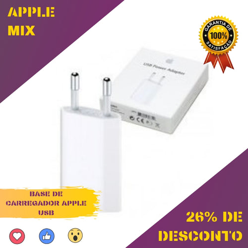 Base de Carregador Apple USB