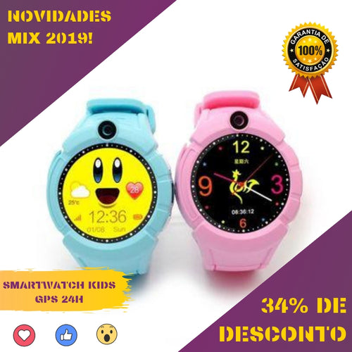 SMARTWATCH KIDS GPS 24H