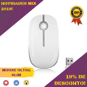 Mouse Ultra Slim Silencioso